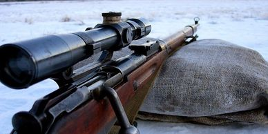 Mosin Nagant PU Sniper Rifle bolt action