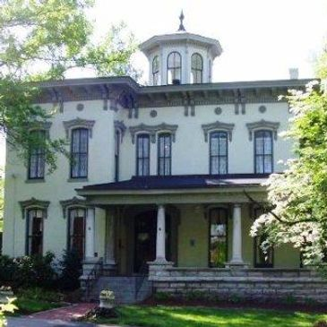 The Peterson Dumesnil House at 301 S. Peterson Avenue is the League's home location.
