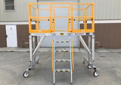 Helicopter Maintenance Stand, UH72 Lakota Maintenance Stand, Aircraft Maintenance Stand, UH60