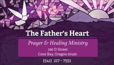 "In need of healing or a miracle in your life? Come and experience ""The Father's Heart"" for you!"