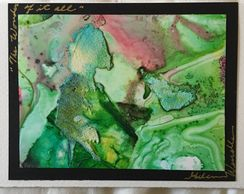 "sample one of a kind 4.5"" X 6.7"""