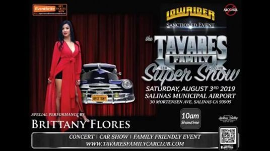Brittany Nicole performs at the Tavares Family Super Car Show!
