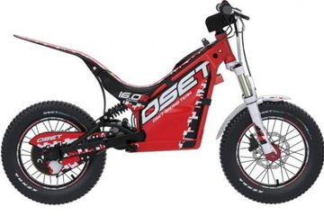OSET 16.0 Racing is a dream machine for 5-7 year old's and the bike of choice for competitive riding