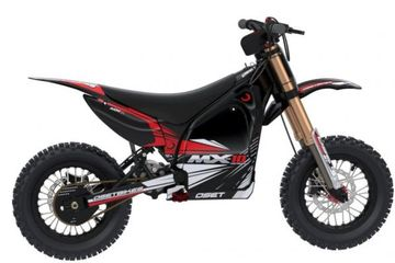 OSET MX-10 is the ultimate electric dirt bike and competition ready MX beginner bike for ages 4 to 7