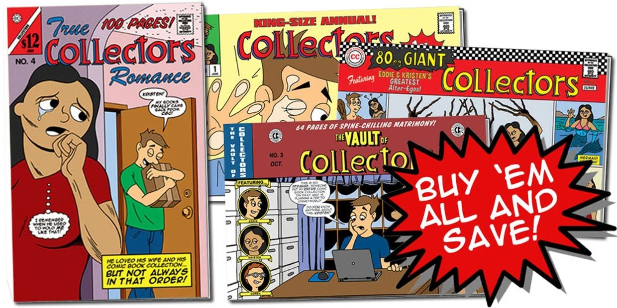 Buy all Collectors Annuals online webcomic and comic books bundle