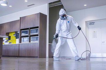 Residential disinfection services, house disinfection service, disinfect house service
