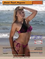 sunset Beach Magazine Cover Photo
