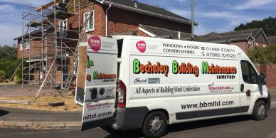 building work and builders locks heath