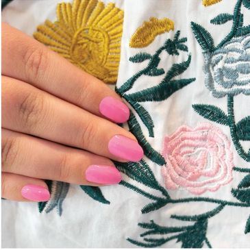 Color Street nails in beautiful Maine-ly Mums.