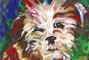 contemporary animal portrait painting, animal prints for sale, paintings and prints for sale