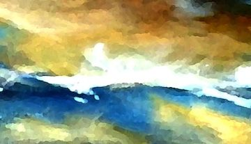 abstract, storm, clouds, expressionism, modern art, home decor, wall art, prints,