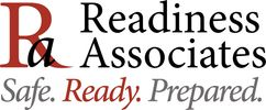 Readiness Associates logo - create plans & responses to protect assets & assure business continuity.