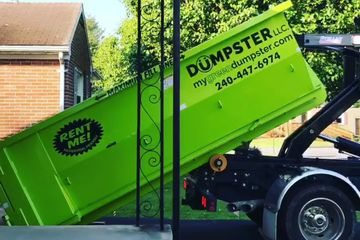 Driveway friendly dumpsters are clean and ready to go