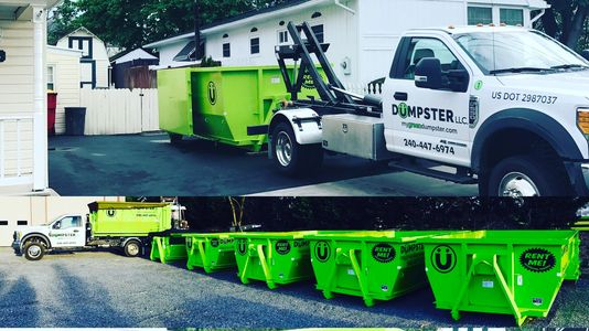 Driveway friendly dumpsters are ready for renting