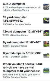 Dumpster Rentals In Hagerstown Frederick and Chambersburg