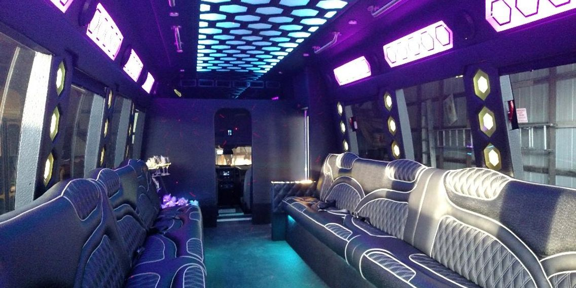 New 28-30 passenger Limo Bus