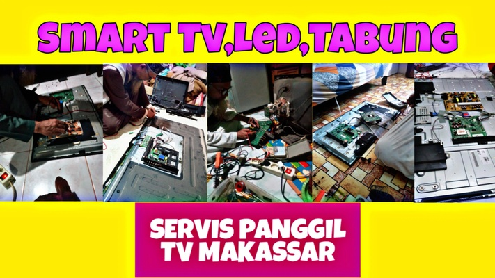 Service Panggil Tv Makassar(Global Electronik) Servis Tv