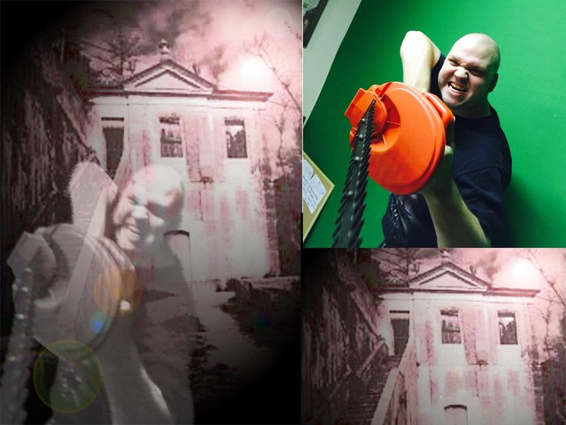 Using in house green screens we c an put you anywhere!