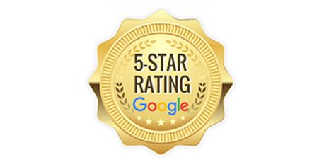 Google uses a five star rating scale to rank businesses based on performance.