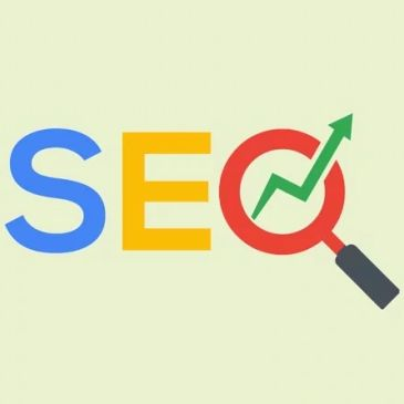seo image in google colors.