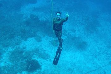 PADI Discover Freediving Cozumel