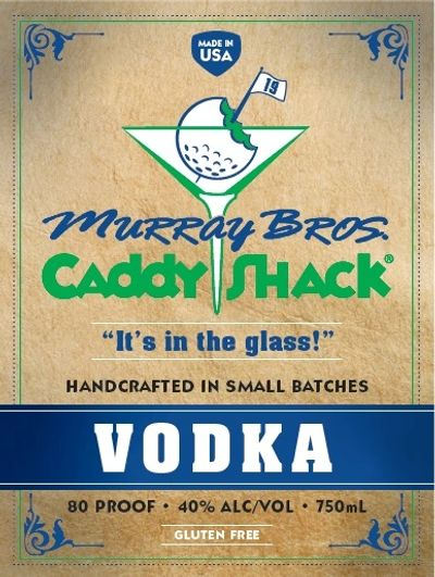 Caddyshack Vodka featured at Murray Bros. Caddyshack Restaurant in Rosemont, IL