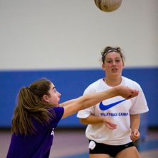 Residential Camp, Volleyball