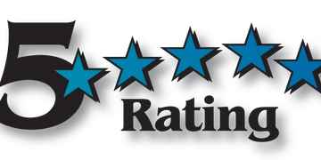 "graphic stating ""5 Star Rating"""