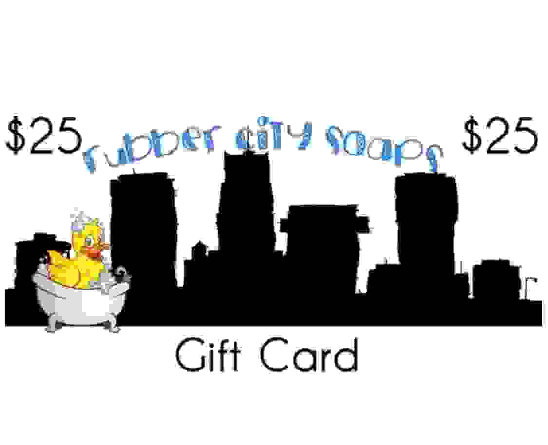 Rubber City Soaps Gift Card