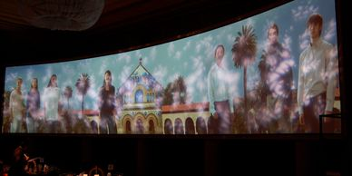 video projection by BCT Entertainment