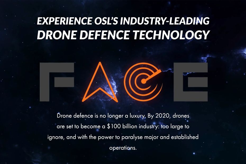 Operational Solutions Ltd - FACE. Drone Detection user interface.