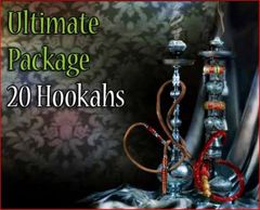 20 Premium Bliss Egyptian Hookahs