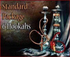 6 Premium Bliss Egyptian Hookahs