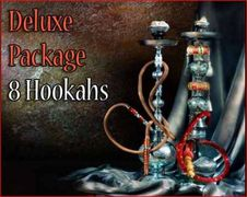 8 Premium Bliss Egyptian Hookahs