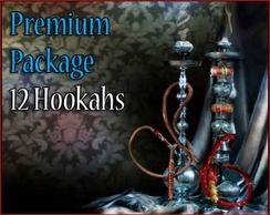 12 Premium Bliss Egyptian Hookahs