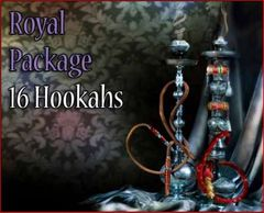 16 Premium Bliss Egyptian Hookahs
