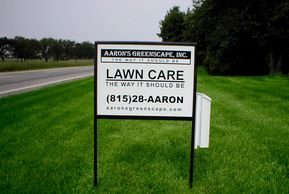 Aarons Greenscape Sign 42°15′17″N 88°50′39″W (42.254758, -88.844093)