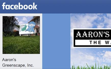 Facebook Aaron's Greenscape, Inc. in Northern Illinois