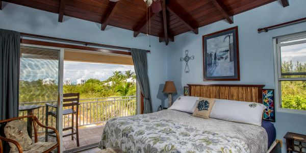 Master Bedroom with view of Taylor Bay