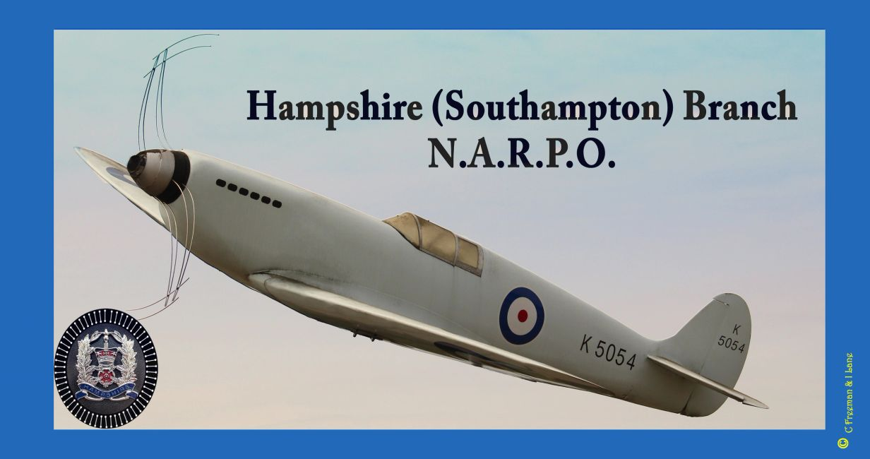 The first Spitfire to fly from Eastleigh (Southampton) Airport tribute composite picture.