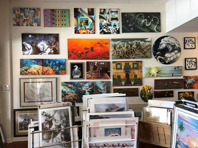 Visit Alligator Art Custom Framing & Gallery today to discover the fine art work done by local and w