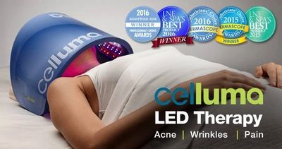 Celluma LED Light Therapy is a non-invasive treatment that can be used to treat acne, fight wrinkles