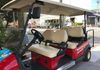 Comfortable 5 passenger golf carts with personal guide