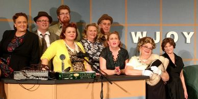 A community theatre group, the East of 60 Players perform a play by Chris McKerracherMc