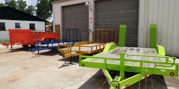 Dump trailer rental, utility trailer rental,  equipment trailer rental, bradenton trailer rentals