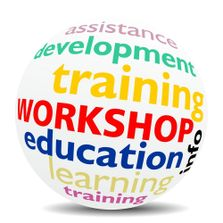 Workshop education training globe