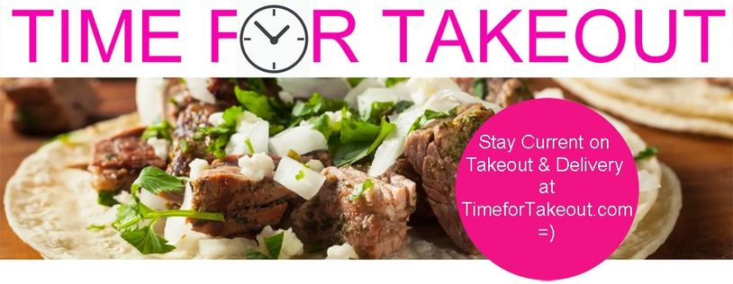 We have one website dedicated to take out at TimeforTakeout.com