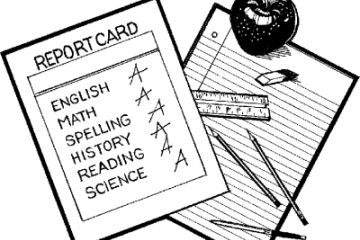 learning center or school report card