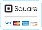 We accept Visa, MasterCard, American Express and Discover!