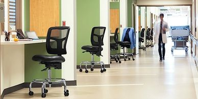 medical task chair seating